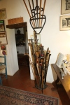 Some of Massimo's cane collection.